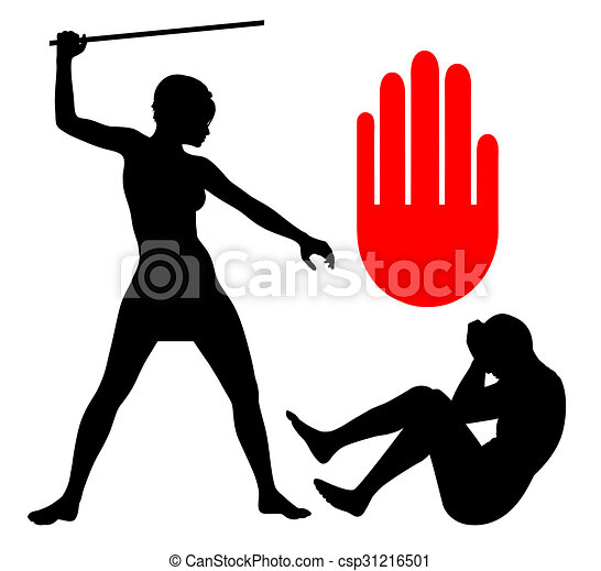 domestic violence against men concept sign of a man in an stock rh canstockphoto com free stop domestic violence clipart domestic violence ribbon clipart