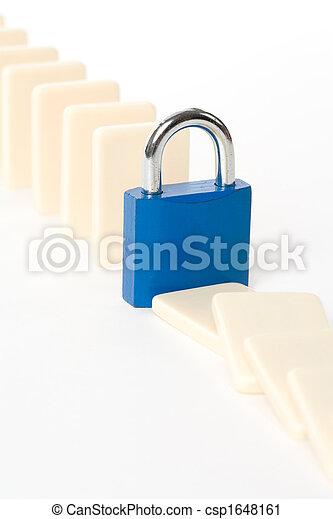 Domino and Lock - csp1648161