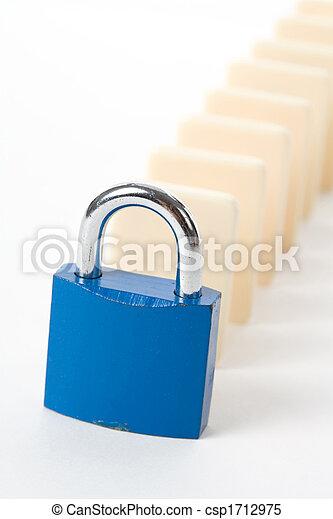 Domino and Lock - csp1712975