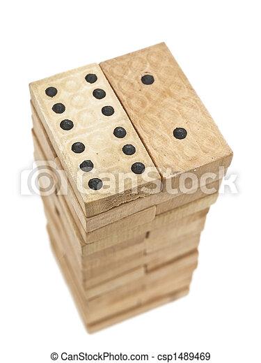 domino, blocos - csp1489469