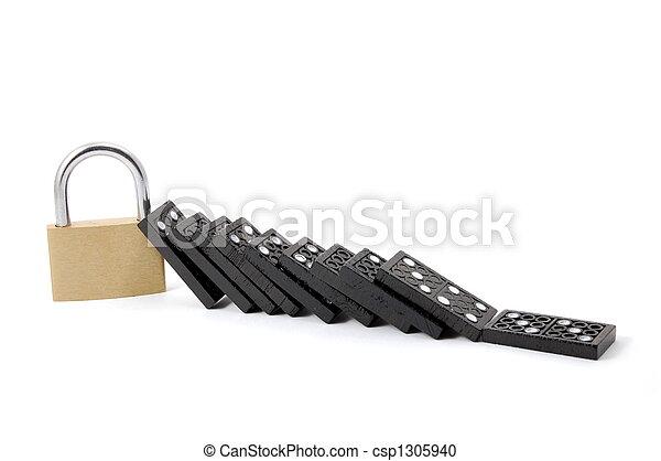 domino security - csp1305940