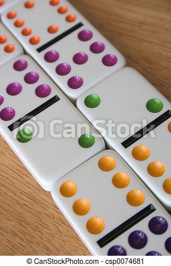 Dominoes - csp0074681