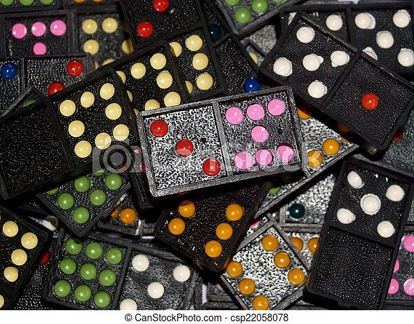 Dominoes - csp22058078