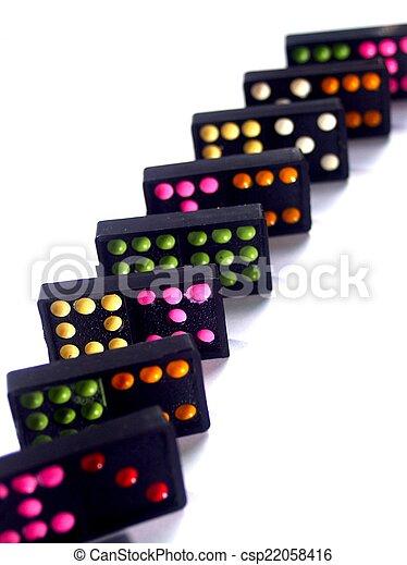Dominoes - csp22058416