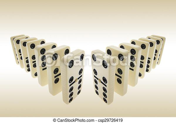 Dominoes - csp29726419