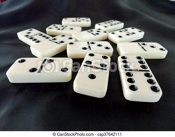 Dominoes - csp37642111