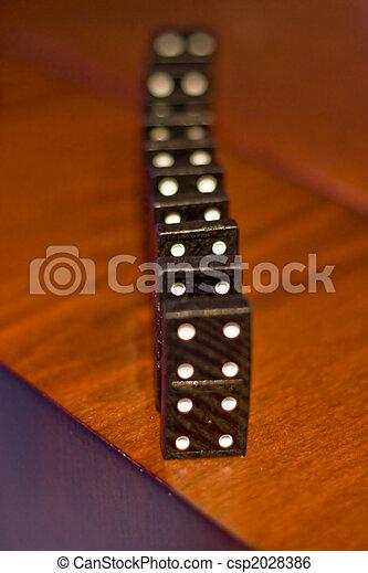 Dominoes - csp2028386