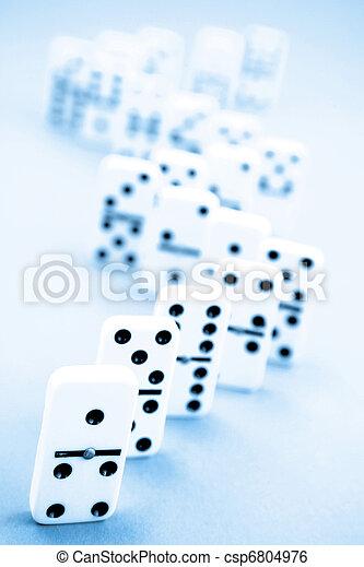 Dominoes - csp6804976