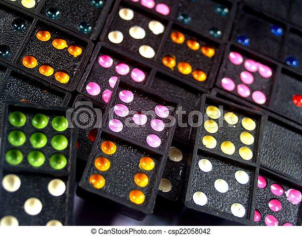 Dominoes - csp22058042