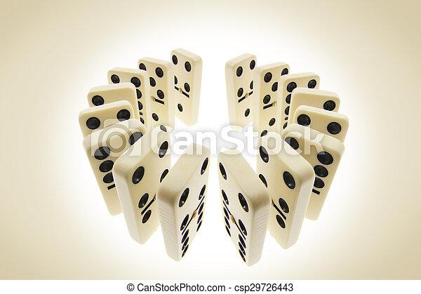Dominoes - csp29726443