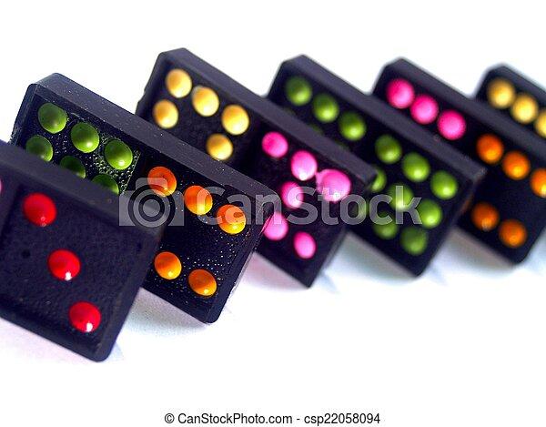 Dominoes - csp22058094