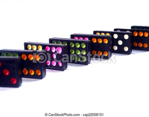 Dominoes - csp22058101