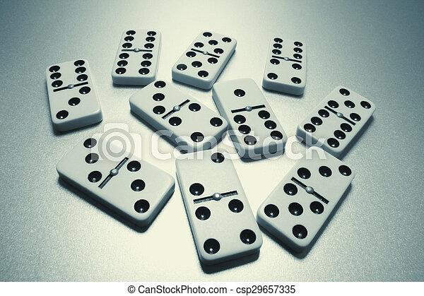 Dominoes - csp29657335