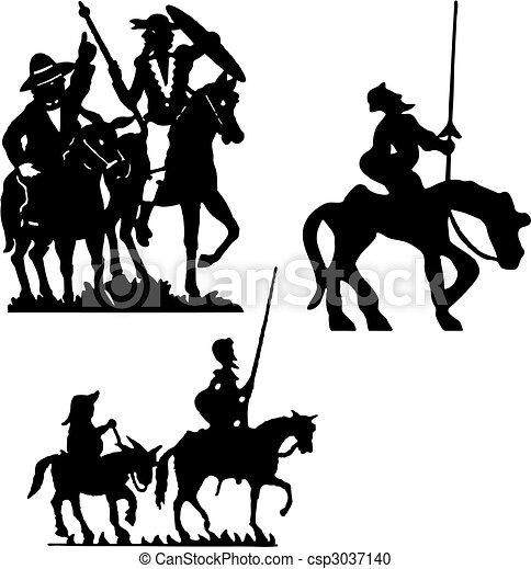 Don Quixote - csp3037140