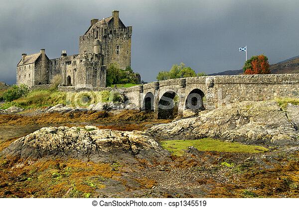 Donan Eileen Castle Scotland - csp1345519