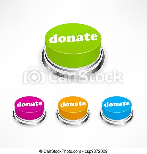 Donate button - csp9372029