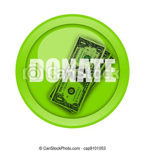 Donate Button - csp9101053