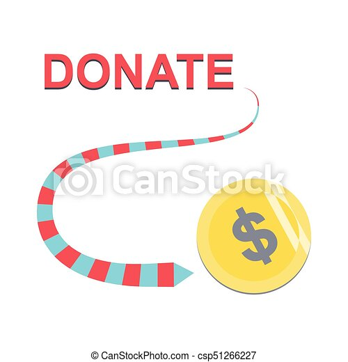 Donate buttons set. Help icon donation - csp51266227