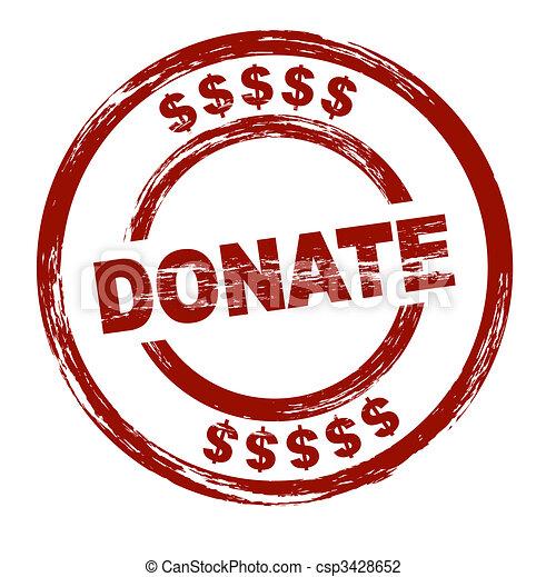 Donate - csp3428652