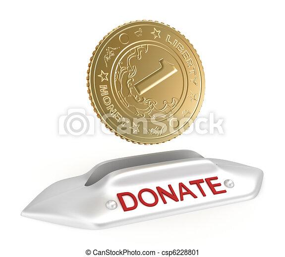 Donate concept icon - csp6228801