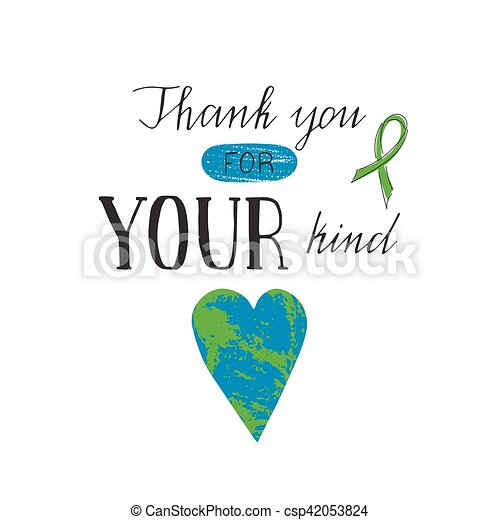 Donate Life awareness lettering - csp42053824