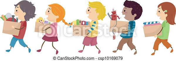 Donation Kids - csp10169079