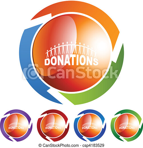 Donations - csp4183529
