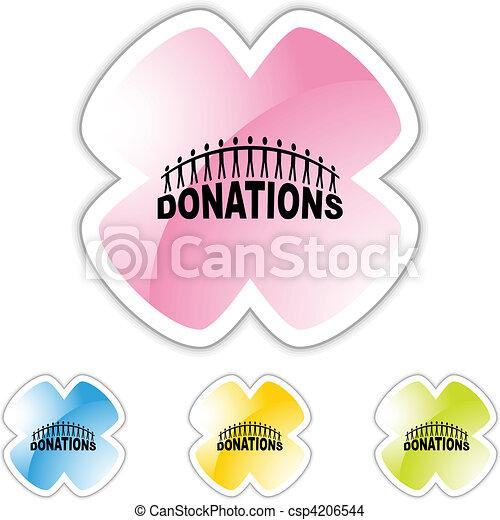 Donations - csp4206544