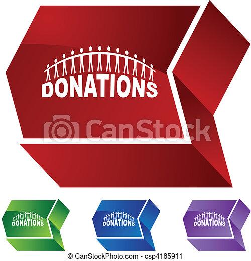 Donations - csp4185911