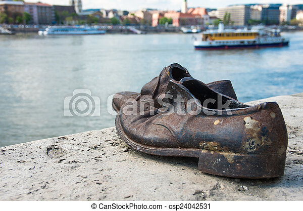 donau, skor, monument, ungern, budapest, bank