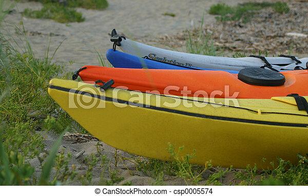 Done kayaking - csp0005574