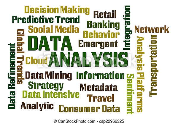 données, analyse - csp22966325