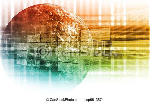 données, analyse - csp6613574
