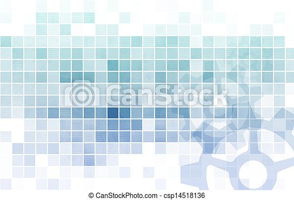 données, analyse - csp14518136