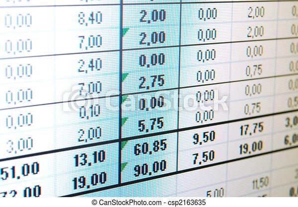 données, business - csp2163635