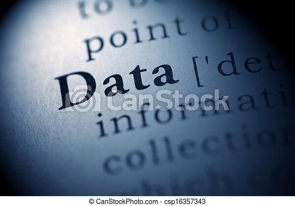 données - csp16357343