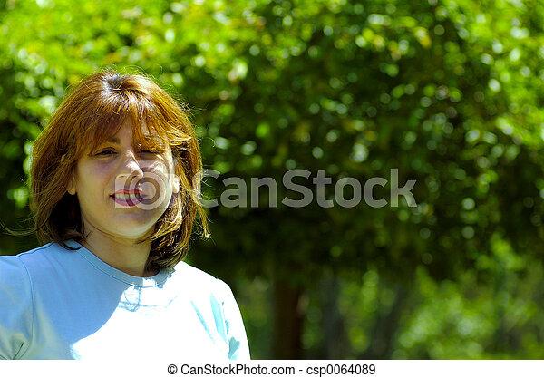 donna, fuori - csp0064089
