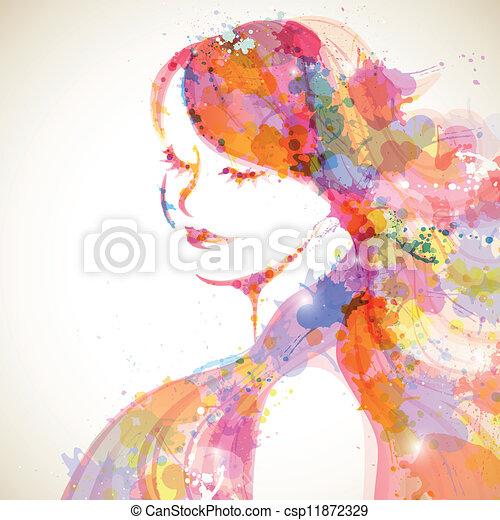 donna, moda - csp11872329