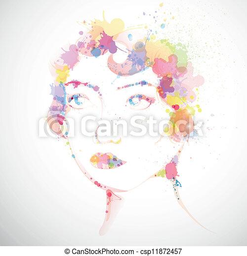 donna, moda - csp11872457