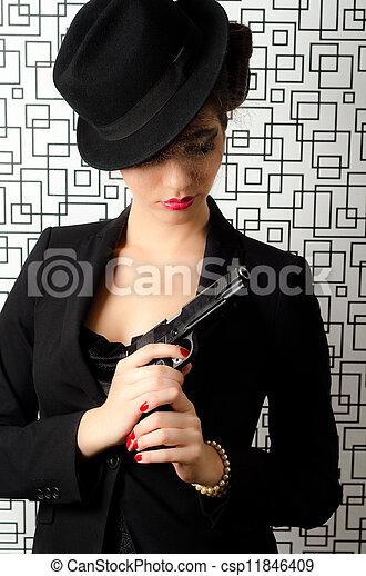 donna, sofisticato - csp11846409