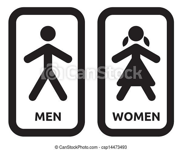 Donne, segno, uomo, bagno vettori eps - Cerca Clip Art ...