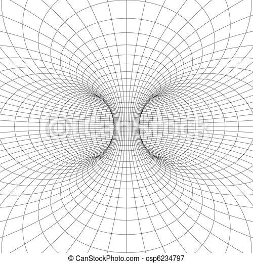 (donut), symbole, wireframe, torus - csp6234797