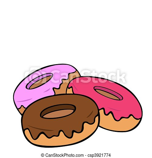 donuts stock illustrations 6 044 donuts clip art images and royalty rh canstockphoto com  free donut border clipart