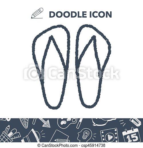 doodle, fiasko, trzepnięcie - csp45914738