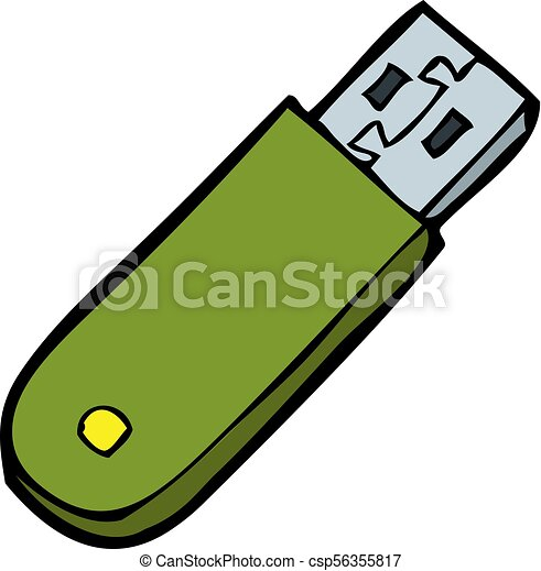 doodle flash memory on a white background vector vector clip art rh canstockphoto ie flash clipart flash clipart gallery
