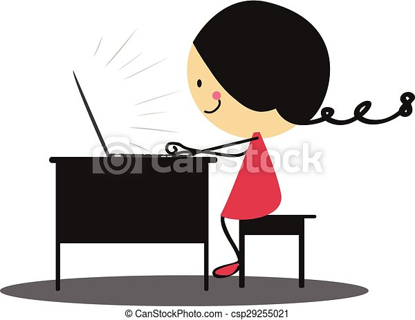 Line Art Laptop : Business startup concept rocket flying out stock vector hd