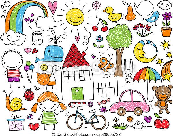 doodle, kids' - csp20665722