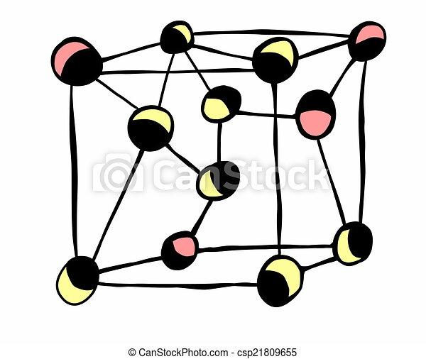 doodle lattice atomic physics stock illustrations search clipart rh canstockphoto com physics clipart logo physics clipart images