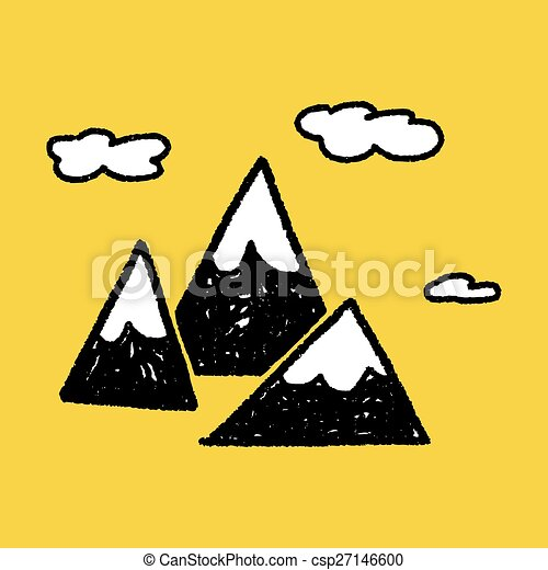 doodle mountain vector clipart search illustration drawings and rh canstockphoto com mountain vector free mountain vector energy