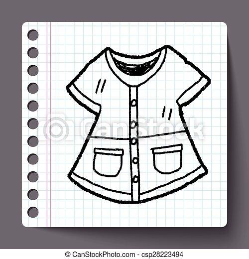 doodle, płaszcz - csp28223494